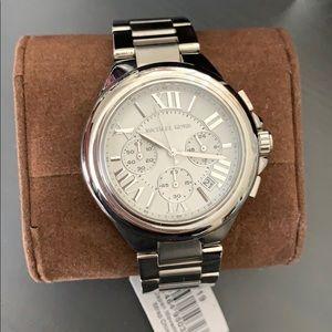 MICHAEL KORS Silver-Tone Watch Style# MK6174